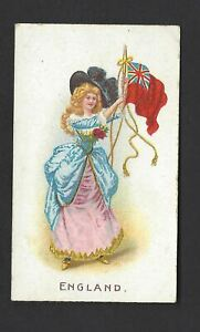 WILLS-O-039-SEAS-FLAG-GIRLS-OF-ALL-NATIONS-ENGLAND