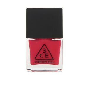 Details about 3CE NAIL LACQUER Polish #RD02 Bright Cherry Red