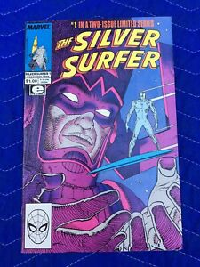 THE-SILVER-SURFER-1-of-Two-Issue-Limited-Series-Moebius-COMIC-BOOK-NEAR-MINT