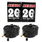 2-Pack Kenda 26x1.90/1.95/2.10/2.125 Schrader Valve MTB Bike Inner Tubes SV 26