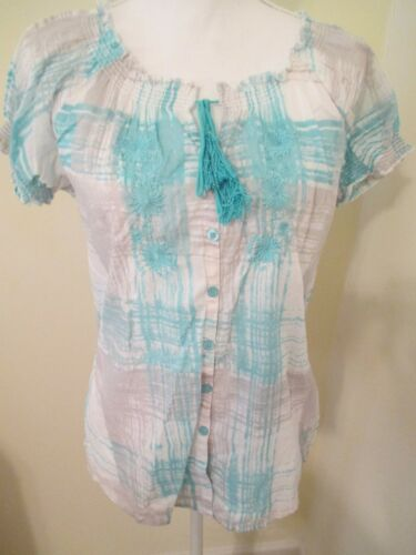 Joe Ladies 6 21 Caraibi Lot New Bleu Rue Directions Shirts Tops Of Madison Hwwrpq