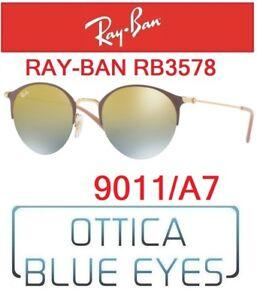 c3df6875e51d Occhiali da Sole RAYBAN RB 3578 9011 A7 Sunglasses Ray Ban Vintage ...