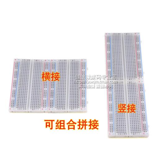 10x400Points Mini Solderless Breadboard Protoboard PCB Test Board 4000Holes85x55