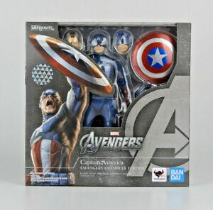 The Avengers S.H.Figuarts Captain America (Avengers Assemble Edition) Bandai NEW
