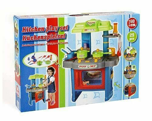 Unisex Electronic Childrens Kids Kitchen Cooking Role Play Toy Cooker Set New