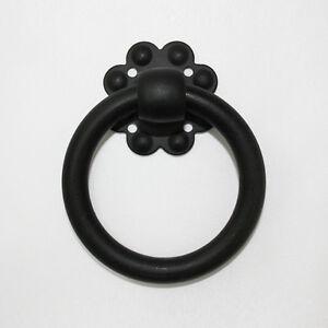 Image Is Loading 10 Pcs Black Matt 70mm Ring Drop Pulls