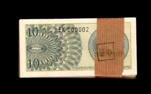 UNC from 1964; FREE SHIPPING Canada or USA 92 P INDONESIA 10 Sen