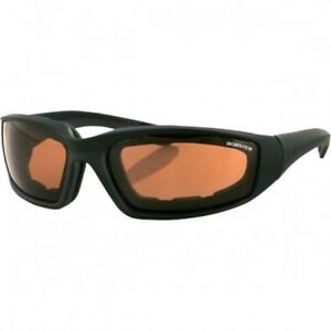 Foamerz 2 Adventure Sunglasses Black Lenses Amber - Bobster Es214a Rendre Les Choses Commodes Pour Le Peuple