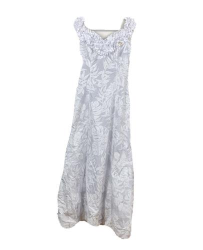 Joan Anderson Princess Kaiulani Muumuu Dress Size