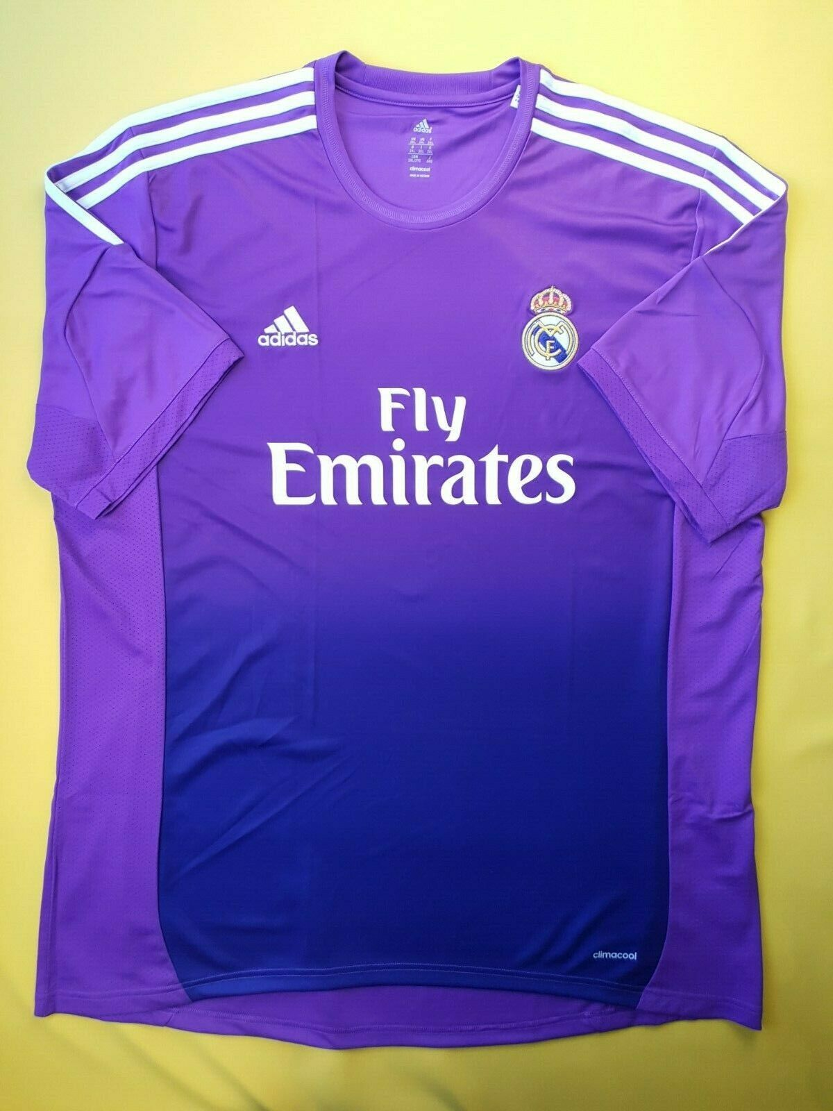 5 5 Real Madrid jersey 2XL 2013 2014 goalkeeper shirt G81065 soccer Adidas ig93