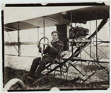 RARE - Aviation Photo LOT of 3 - Horace Kearney Aviator Biplane - 1910 Airplane