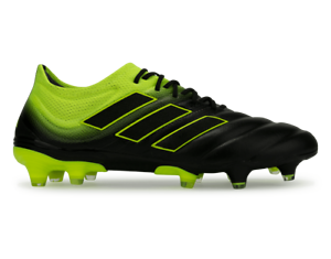 adidas-Men-039-s-Copa-19-1-FG-Off-Black-Solar-Yellow-BB8088