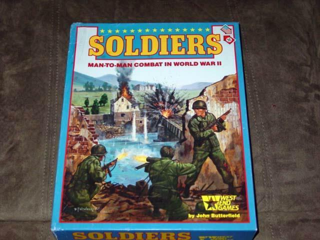 West End Games - SOLDIERS - Man-to-Man Combat in WWII (UNPUNCHED) 1987