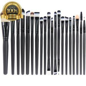 Image is loading 20-Best-Makeup-Brush-Set-Professional-Face-Eye-