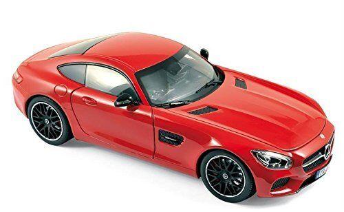 2015 Mercedes AMG Gt Rouge 1 18 Voiture Miniature par Norev 183496