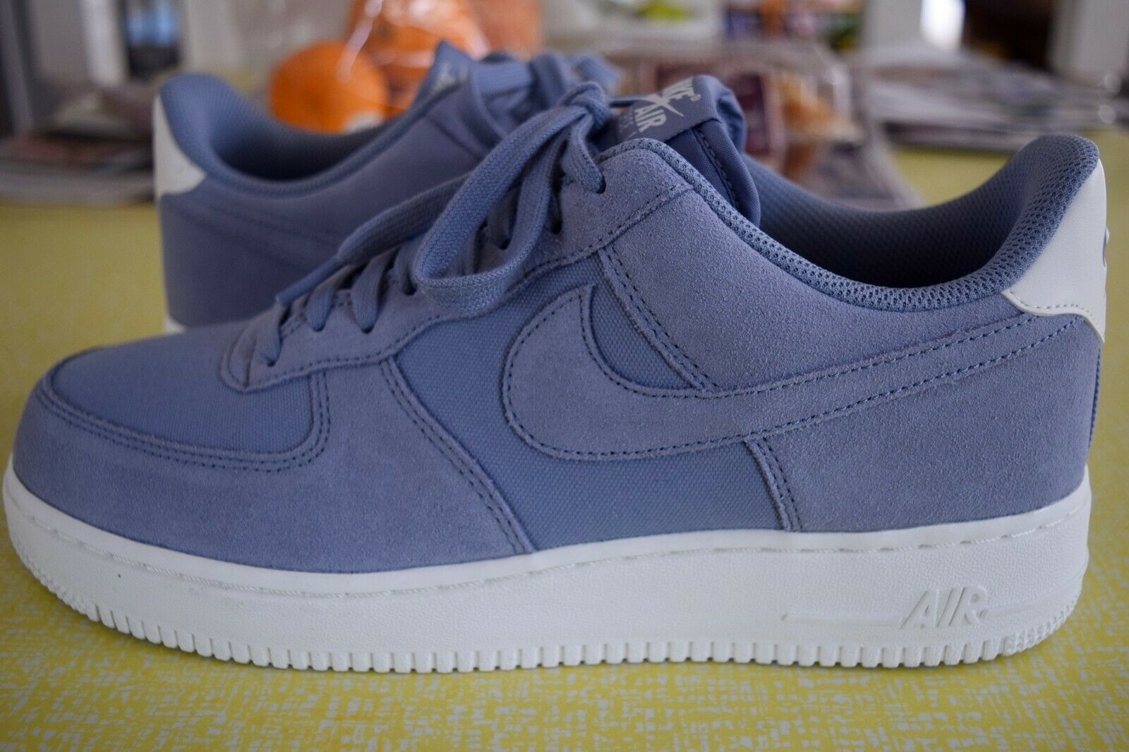 NIKE AIR FORCE 1 '07 A03835-400 ASHEN SLATE HARD TO FIND SIZE 9.5