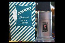 Sehr Selten Zippo Barcroft No. 4 Nordberg Machinery G / W Candy Box 1950´s RAR !