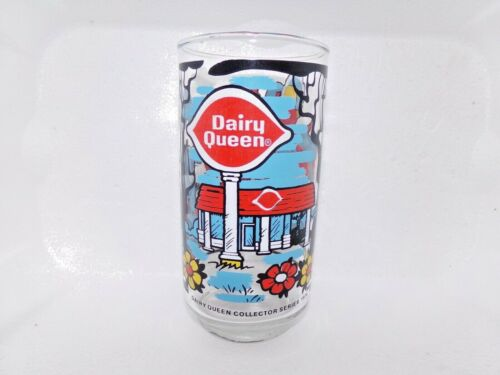 Vintage 1976 Dairy Queen Collector Series Glass/Cup 1976