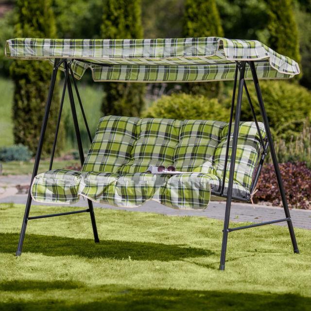 466862 Patio Latina Auflagen-Set für Hollywoodschaukel Garten 150 x 46 cm