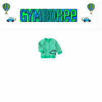 Gymboree Baby Boys we Have Arrived Striped Car Pullover Crew Top 3-6 / 6-12