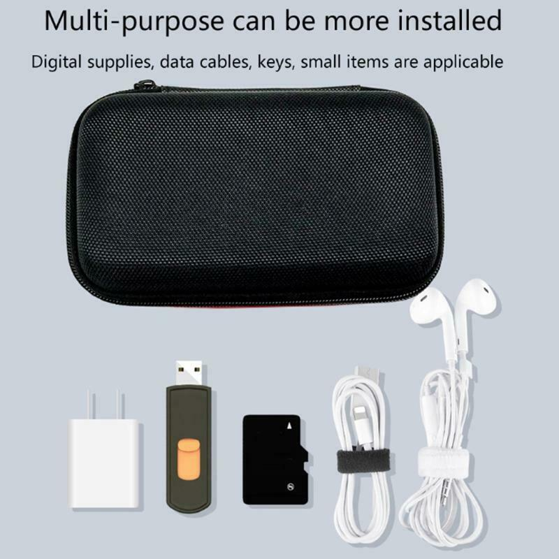 Portable Case Bag for Retroid Pocket 2 Tempered Glass Film & HDTV to MICRO Cable