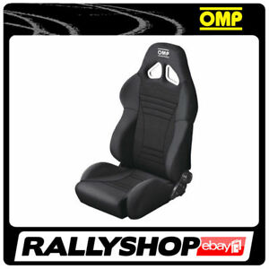 OMP-STRADA-Black-Reclining-Seat-Road-Car-Street-CHEAP-DELIVERY