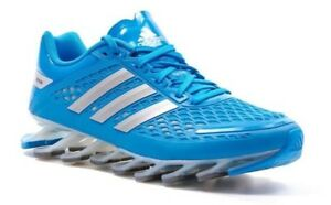 low priced 87e5c e569b Details about Adidas Springblade Razor J Men's Sneakers Blue Sz 6.5 US