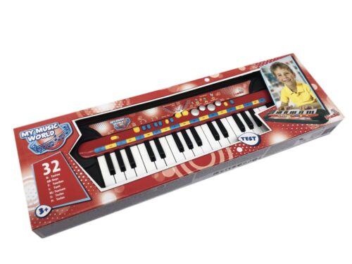 Simba My Music World 45x13cm Keyboard 32 Tasten Kinder Klavier Sound 106833149