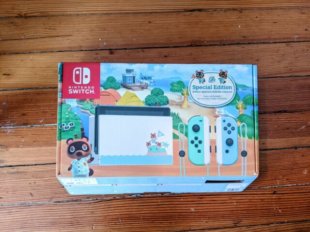 Nintendo Switch Animal Crossing: New Horizon Special Edition Dock and Joycon