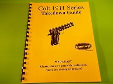 TAKEDOWN MANUAL  COLT 1911 and similar series PISTOLS 1911 style