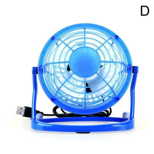 4 pollici Mini Ventilatore da tavolo Fan USB Desktop DESK silenziosa COMPUTER PORTATILE VENTOLA DI RAFFREDDAMENTO Estate HOT
