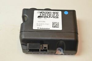07-11 W216 W221 MERCEDES CL63 S63 AMG FUEL PUMP CONTROL