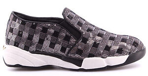On Baby Zapatos Shine 1h208d Slip Pinko Mujer Silver Sneakers Sequins1 Zzf qqtpgv