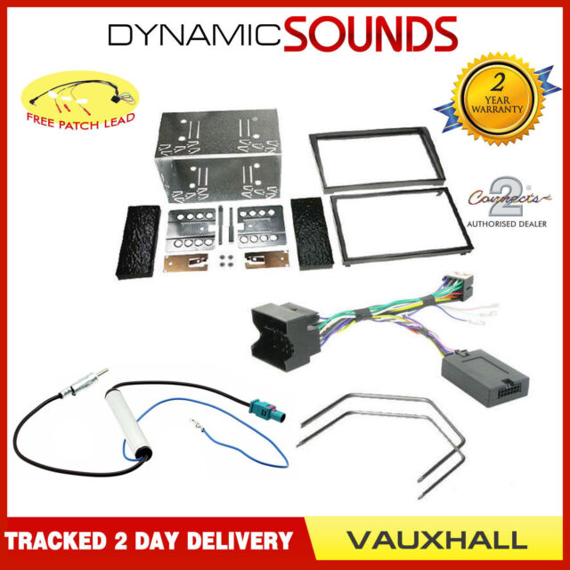 Car Stereo Fascia Double Din Fitting Kit For Vauxhall