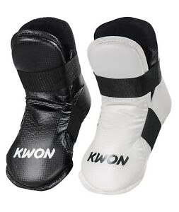 Fussschutz-Spannschutz-von-Kwon-Semi-Tec-fuer-Taekwondo-Kickboxen-Karate-usw