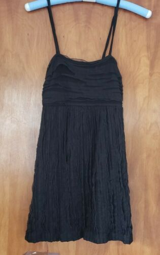 Alice + Olivia  Black sleeveless Mini Dress.  Size