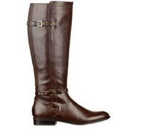 79dc1bb2322 Image is loading Unisa-Womens-Tall-Boots-Riding-Triplee-Solid-Man-