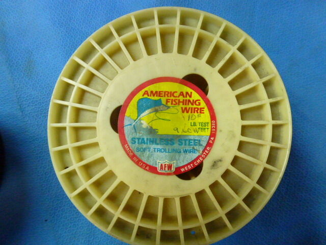 American Fishing Wire 10lb Test on a  10Spool  counter genuine