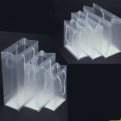 New Frosted Transparent Tote Bag  Purse Shoulder Handbag Stadium Approved