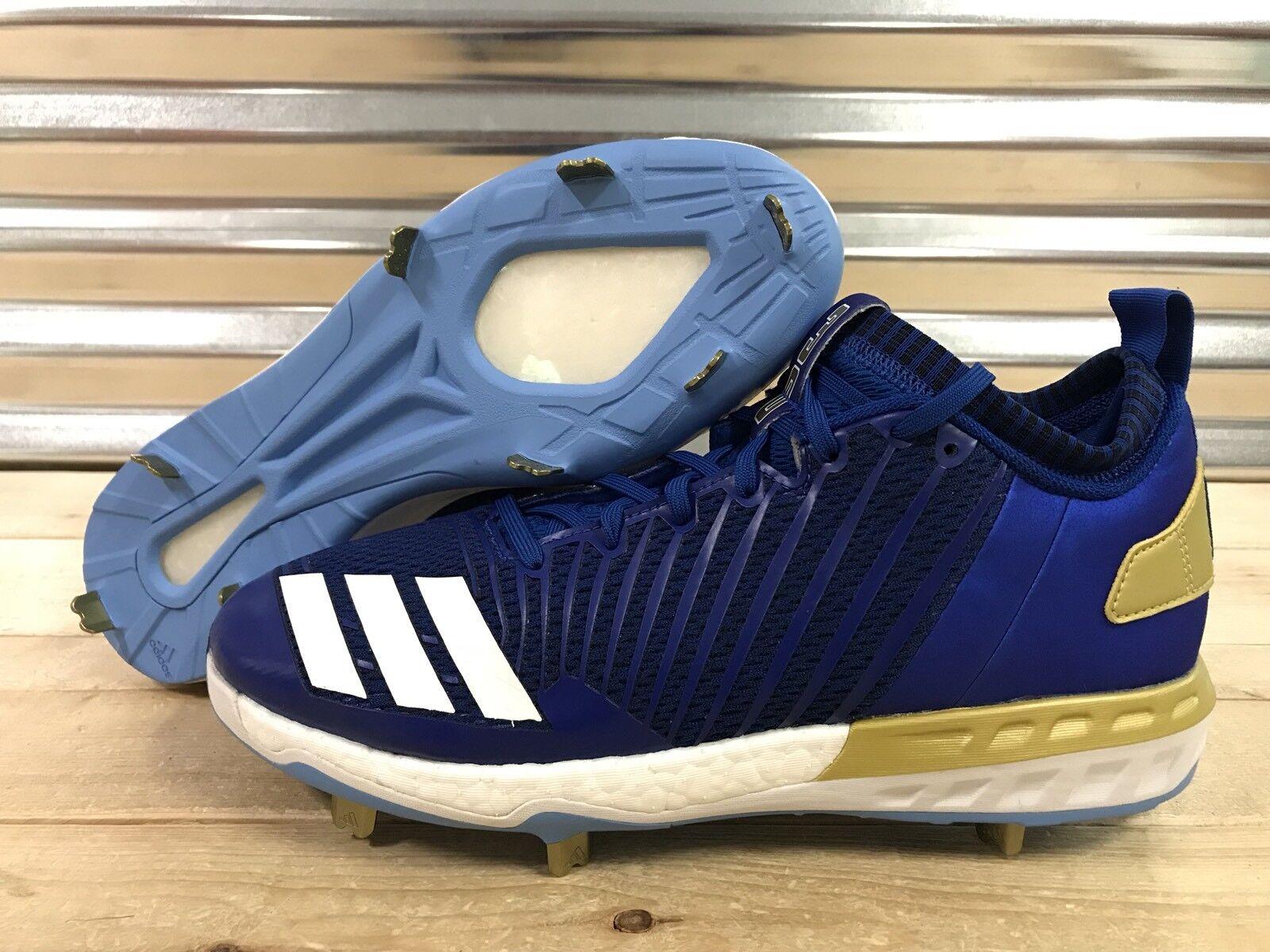 Adidas Boost Icon 3 Yordano Ventura 30 PE Baseball Cleats Royals gold ( CG5499 )