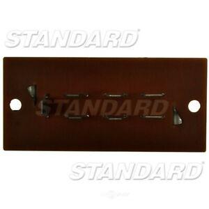 Hvac Blower Motor Resistor Front Standard Ru 480 Ebay