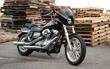 Memphis Shades Black Gauntlet Fairing for Harley Sportster / FXD Dyna MEM7191