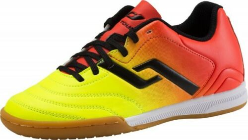 Pro Touch Kinder Fussball Hallenschuhe Classic Hallen Schuhe 274573 Gelb Orange