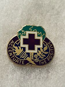 Authentic-US-Army-Ft-Jackson-MEDDAC-Moncrief-Hospital-DI-DUI-Crest-Insignia-D-22
