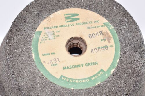 6048 RP Masonry Green Grinding Wheel Bullard Abrasive Products 22-631 40690
