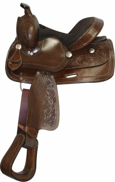 10  Double T Pony   Youth saddle  perfect
