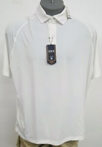 Daniel-Cremieux-Performance-Keep-Cool-White-S-S-Men-039-s-Shirt-NWT-75-Choose-Size