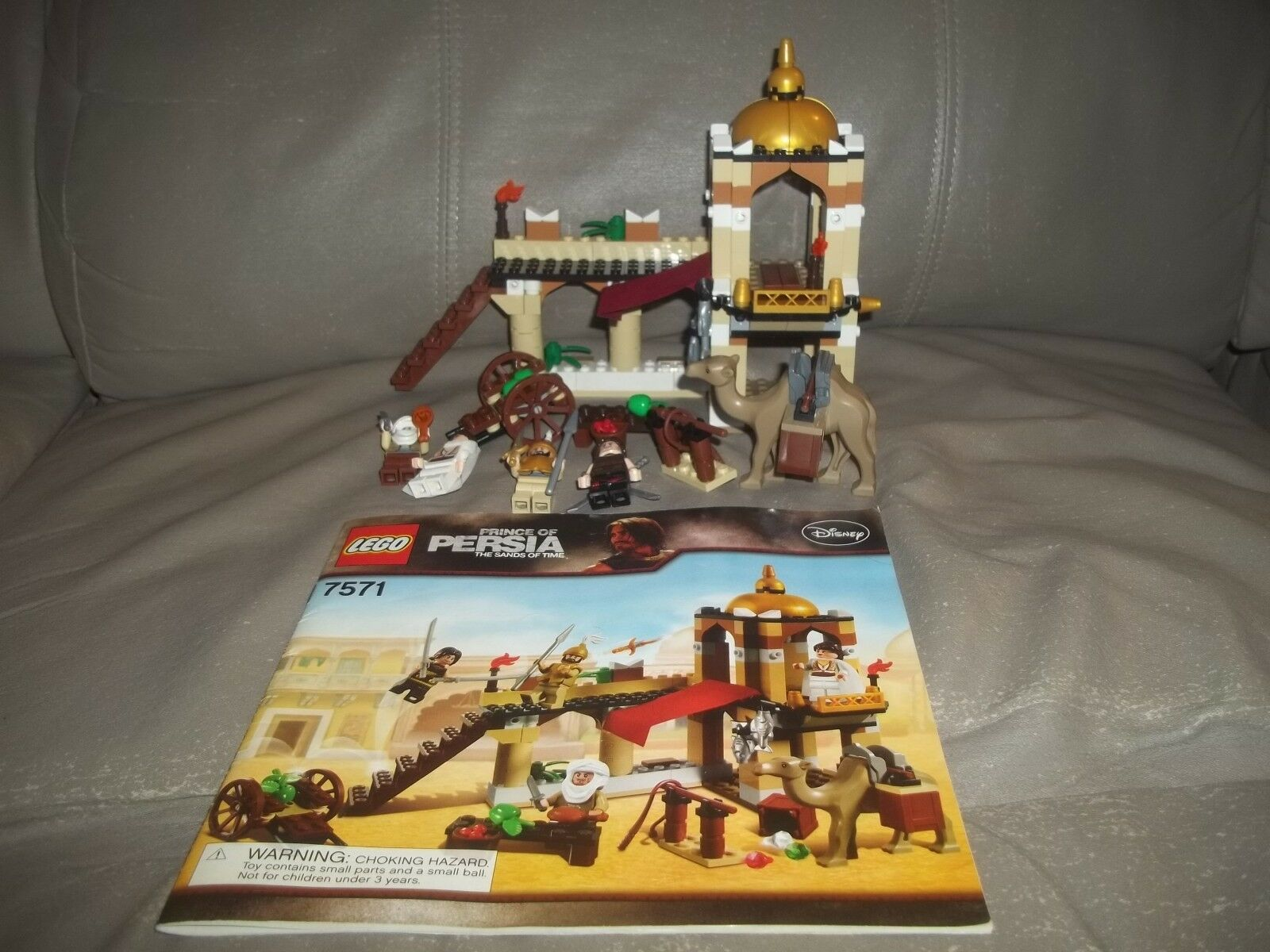 LEGO Prince of Persia 7571  The Fight for the Dagger  100% w  instructions