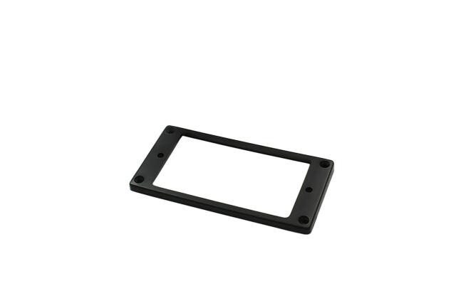 Plastic Mounting Ring Rahmen für Humbucker Pickup Tonabnehmer flach gerade BK
