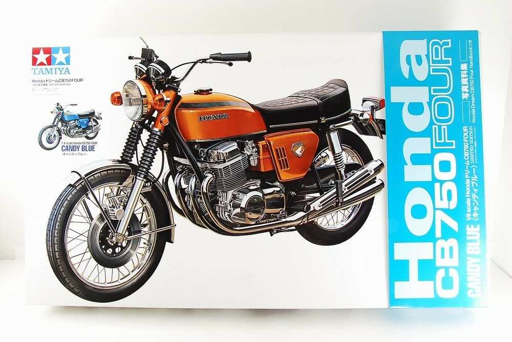 TAMIYA 1 6 HONDA CB750 FOUR BIG SCALE SERIES NO,1 [CANDY blueE] VERY RARE